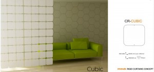 CR-CUBIC PANEL AŻUROWY MINI MOUK