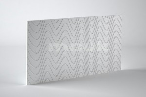 PANEL 3D MOUK DM-WAVES 50CM X 100CM