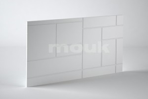 PANEL 3D MOUK DM-CUADRATIC 50CM X 100CM